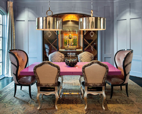 Pink dining room home design ideas pictures remodel and for Pink dining room ideas