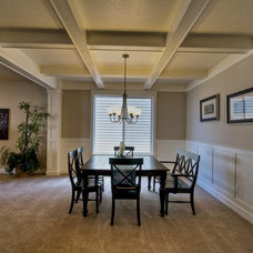Craftsman Dining Room by Stone Bridge Homes NW