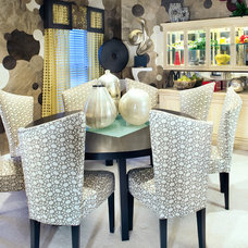 Eclectic Dining Room by The Interior Design Firm