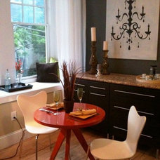Eclectic Dining Room by Robert Petril