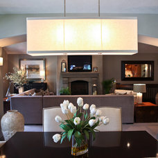 Contemporary Dining Room by Denise Glenn Interior Design