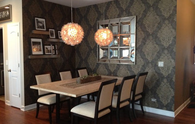 Inside Houzz: Taking a Dining Space From Plain to Polished