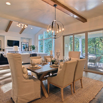 Dining Space with Great Room & Outdoor Extension - The Overbrook