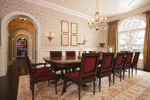 Traditional Dining Room by Stonewood, LLC