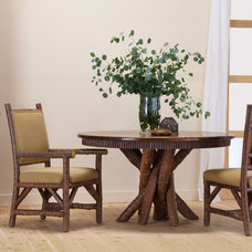 Rustic Dining Room by La Lune Collection