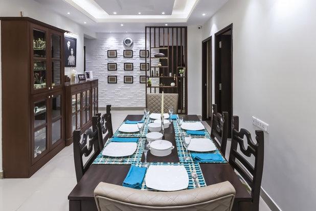 Contemporary Dining Room by Nandita Manwani