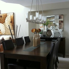 Modern Dining Room by MELDS home staging