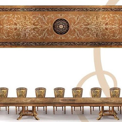 Dining Tables - Bernadette Livingston Furniture can custom make any size, style, shape, and finish.