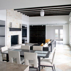 Modern Dining Room by Hull Historical