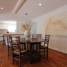 Contemporary Dining Room by cky design, inc.