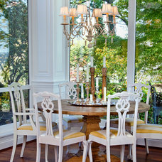Traditional Dining Room by RVGP Photo+Graphics