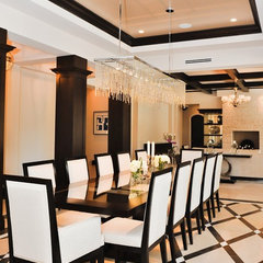 contemporary dining room by tuthill architecture