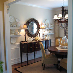traditional dining room by Southern Hospitality