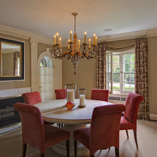 Traditional Dining Room by B Fein Interiors LLC