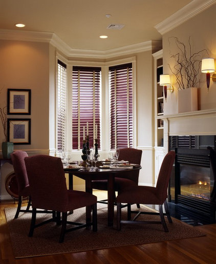 Traditional Dining Room by Grace Dumalac Design