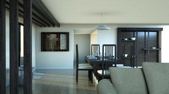 Dinning Room 3D Visualzation