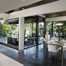 Modern Dining Room by My House Design Build Team