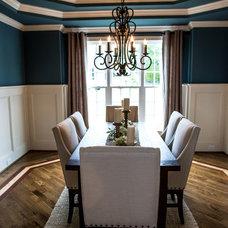 Contemporary Dining Room Dinning Room