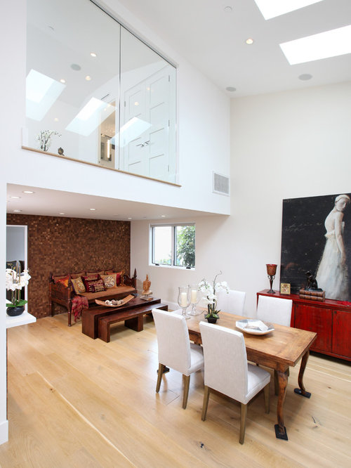 Example of a trendy great room design in orange county