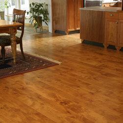 Knotty alder wood flooring find kitchen bathroom and for Knotty laminate flooring