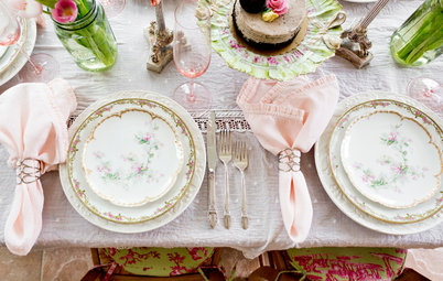 Create a Cheery, Romantic Mother's Day Tablescape