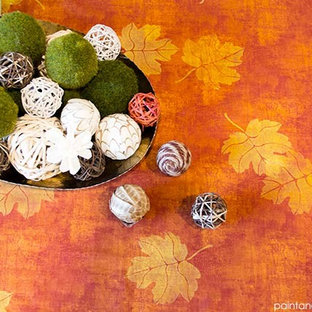 DIY Thanksgiving Decorations & Crafts with Stencils