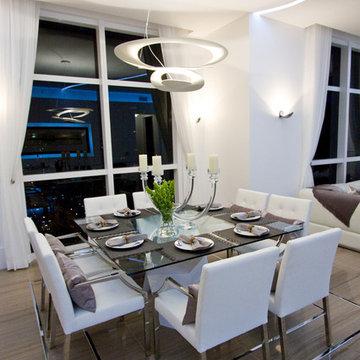 DKOR Interiors - Interior Design at the Ocean Marine Yacht Club, Hallendale, FL