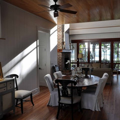 traditional dining room by Frederick + Frederick Architects