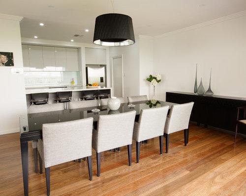Sydney dining room design ideas renovations photos with for Medium dining room ideas