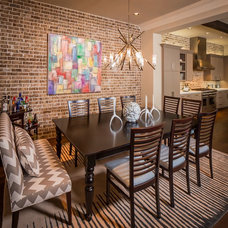 Contemporary Dining Room by Jamestown Estate Homes