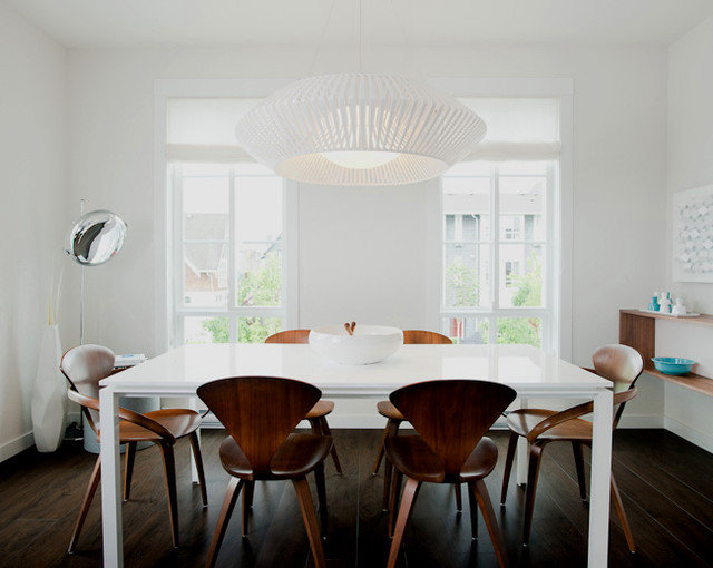 Modern Dining Room by Portico Design Group