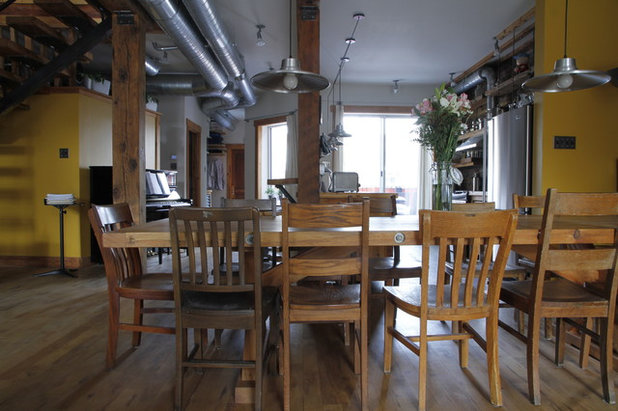 My Houzz Ecofriendly And Salvaged Style In A Montreal Triplex