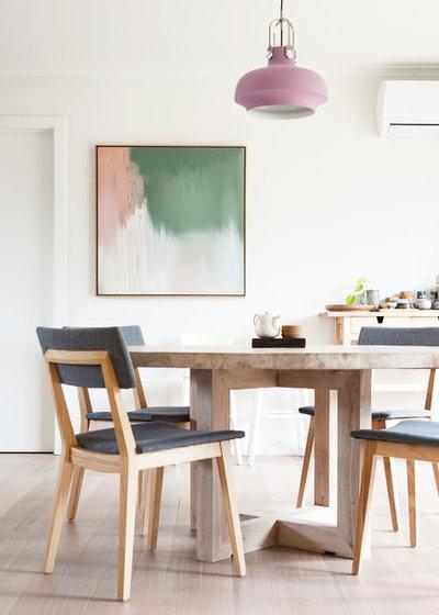 Scandinavian Dining Room by Inbetween Architecture
