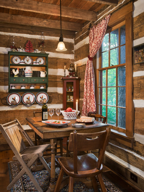 Rustic Dining Room Wall Decor rustic dining room design ideas, remodels & photos