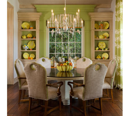 tropical dining room by David Small