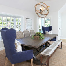 Beach Style Dining Room by Blackband Design