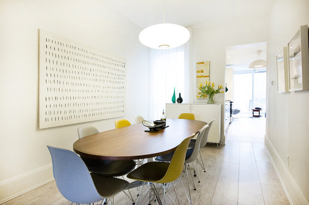 Midcentury Dining Room by Affecting Spaces