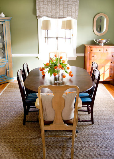 Eclectic Dining Room by Lesley Glotzl