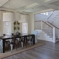Beach Style Dining Room by Geoff Chick & Associates