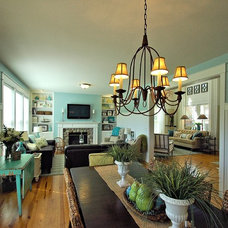 Beach Style Dining Room by Northlight Interiors