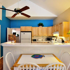Tropical Dining Room by Vacation Homes of Key West