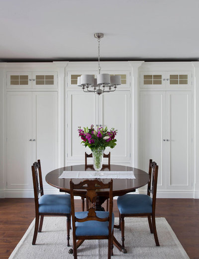Traditional Dining Room by Garrett Dillon Crafted Kitchens & Furniture