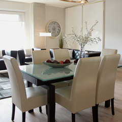 modern dining room by Wish Decor