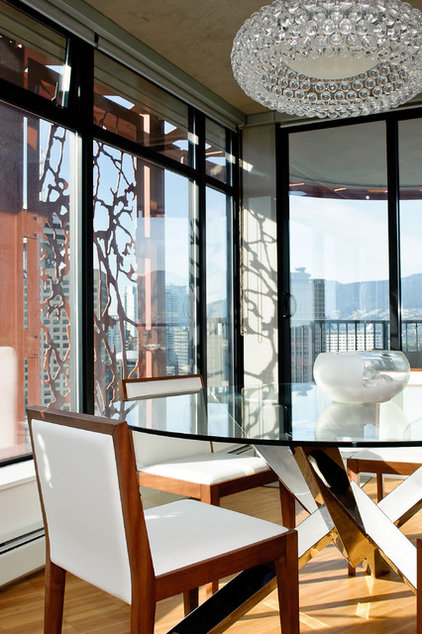 Modern Dining Room by The Spotted Frog Designs