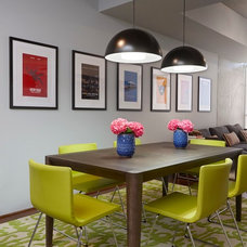 Contemporary Dining Room by Daniella Villamil Interiors