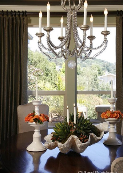 Traditional Dining Room by Doyle McCullar Fine Interiors
