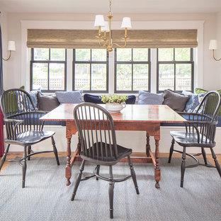 75 Farmhouse Kitchen/Dining Room Combo Design Ideas - Stylish ... on kitchen living room ideas, living room combination ideas, kitchen office ideas, kitchen laundry combination ideas,