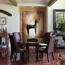 Traditional Dining Room by Modern Rustic Homes