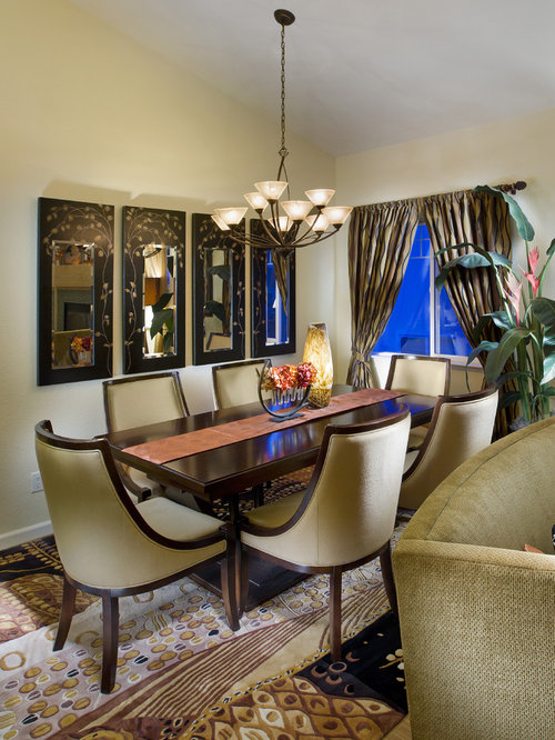 Eclectic dining room design ideas renovations photos for Eclectic dining room decorating ideas