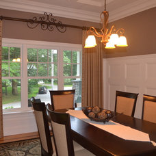 Contemporary Dining Room by Sew Bella Home